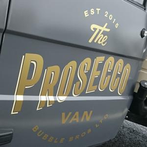 Bubble Bros Ltd - The Prosecco Van
