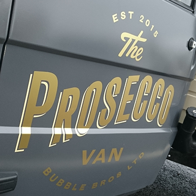 Bubble Bros Ltd - The Prosecco Van